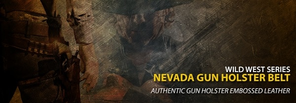 Nevada Gun Holster Belt