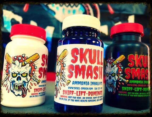 Skull Smash Ammonia Inhalants now available!