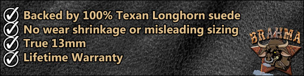 100% Texan Longhorn Leather