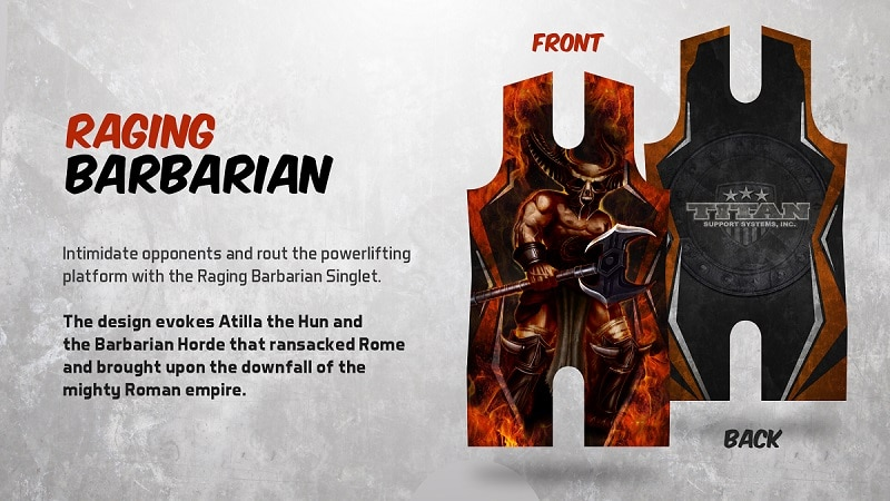 Raging Barbarian Singlet