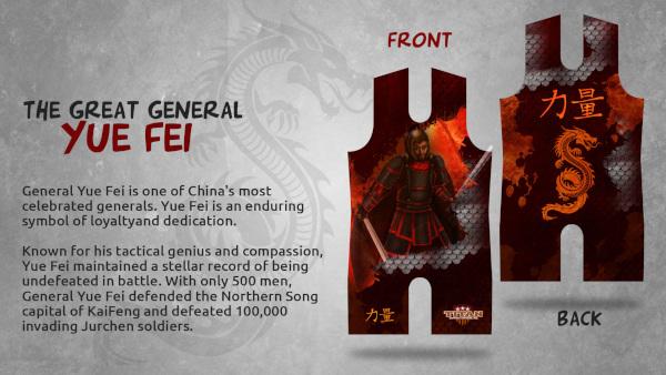 General Yue Fei Singlet