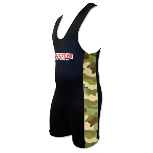 Camo Sides Singlet
