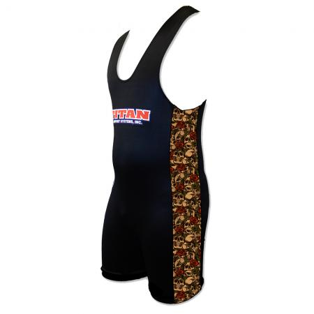 Skull and Roses Sublimated Singlet